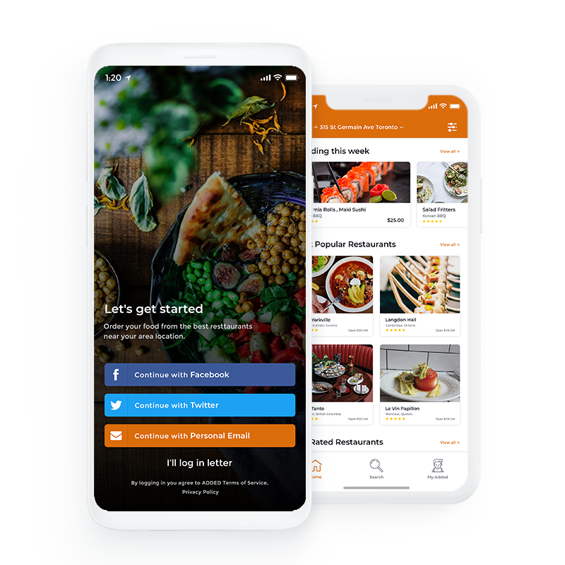 Added – Healthy Food Delivery Services