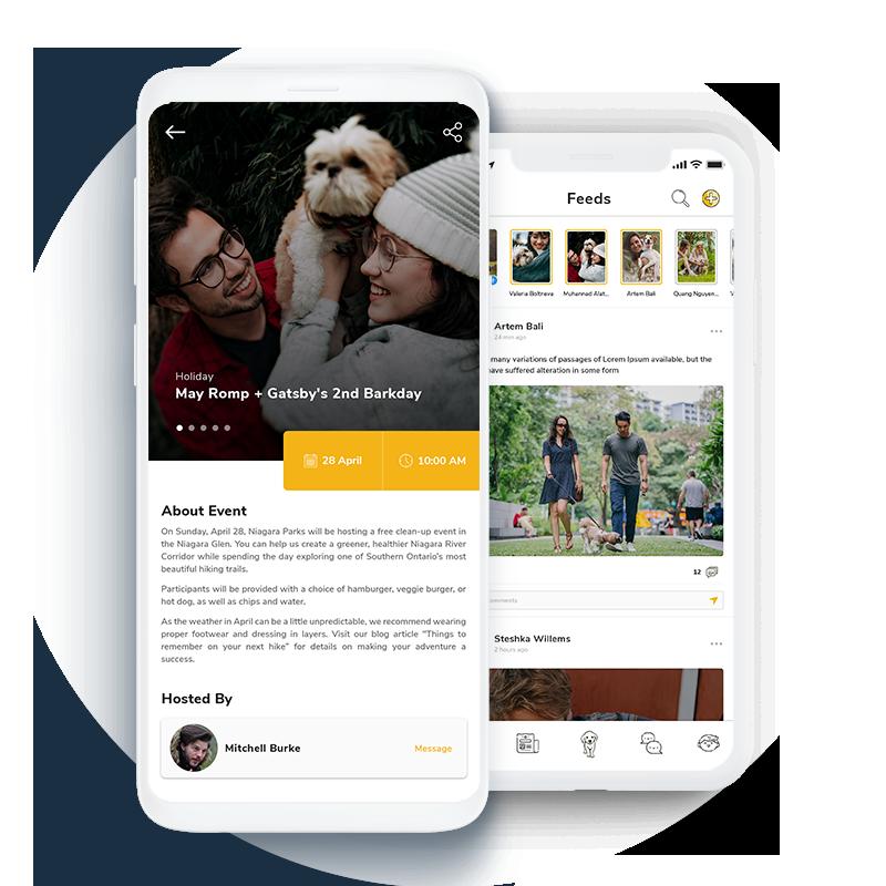 Pet Social Networking Application