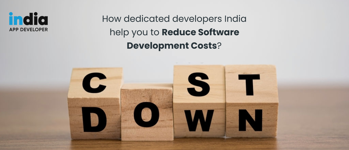 How dedicated developers India help you to reduce Software development costs?